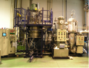 Equipment for the thermal treatment (pilot in Tecnalia)