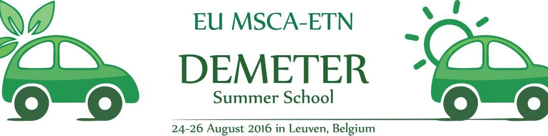 REMAGHIC at the Demeter Summer School