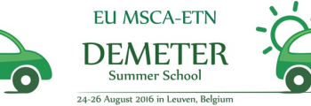 Demeter Summer School, August 2016